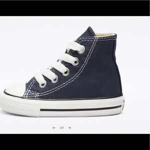 INFANT CHUCK TAYLOR ALL STAR HIGH TODDLER NEW 10